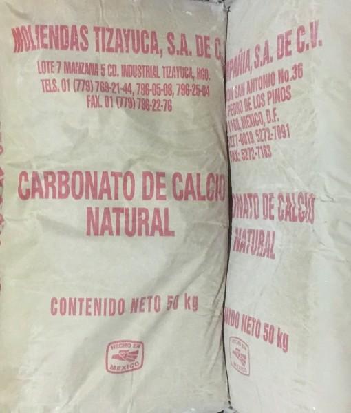 venta Carbonato de calcio bulto 50kg