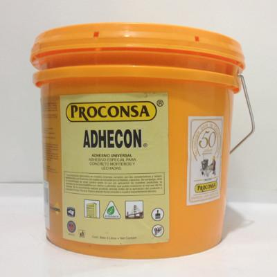 adhesivo concreto adhecon proconsa