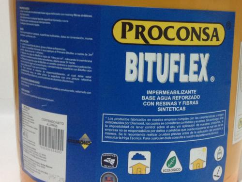 impermeabilizante bituflex proconsa